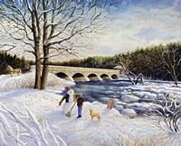 Pakenham Bridge Winter Fine Art Print