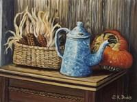 Autumn Corn Fine Art Print