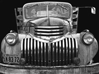 Chev 4 Sale - Black and White Fine Art Print