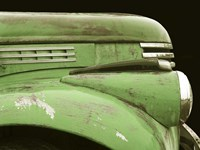 Chevy Streamline - Apple Green Fine Art Print