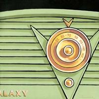 Galaxy Radio - Green Fine Art Print