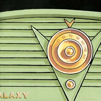 Galaxy Radio - Green Fine Art Print