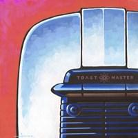 Galaxy Toaster - Red Fine Art Print