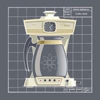 Galaxy Coffeemaid - Ivory Fine Art Print