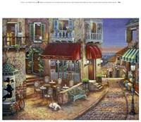 Cafe Romantique Fine Art Print