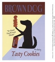 Brown Dog Cookies Fine Art Print