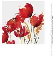 Watercolor Garden 3 Fine Art Print
