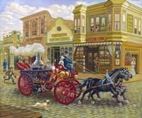 Fire Truck Fine Art Print