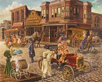 Main Street Fine Art Print