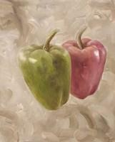Sweet Peppers I Framed Print