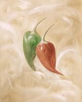 Hot Peppers IV Framed Print