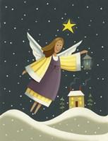 Angel with a Lantern Fine Art Print