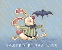 Rain Bunny Fine Art Print