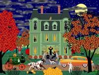 Halloween House Fine Art Print