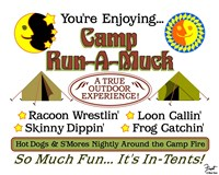 Camp Run-a-Muck Fine Art Print
