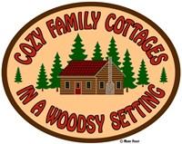 Cozy Cottage Woodsy Setting Fine Art Print