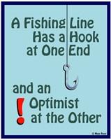 Fishing For Optimists Fine Art Print