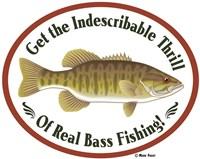 Thrill Of Bass Fishing Fine Art Print