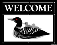 Welcome Loon Fine Art Print