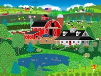 Apple Pond Farm Spring Fine Art Print