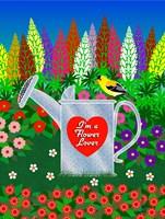 Flower Lover Fine Art Print