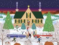 Christmas Eve At Gramma's Fine Art Print