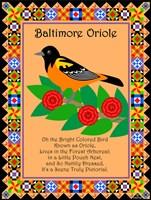 Baltimore Oriole Quilt Fine Art Print