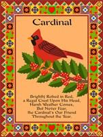 Cardinal Quilt Fine Art Print