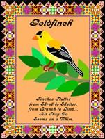 Goldfinch Quilt Fine Art Print