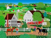 Horse Country Fine Art Print