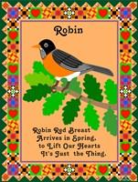 Robin Quilt Fine Art Print