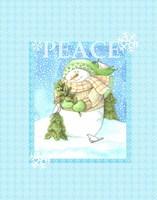 Snowman Joy Fine Art Print