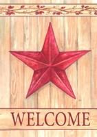 Barn Star Welcome Fine Art Print