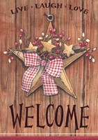 Country Star Welcome Fine Art Print