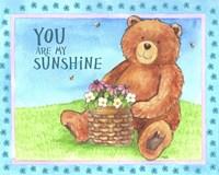 Bear Sunshine Framed Print