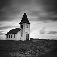 Iceland Hellnar Church Fine Art Print