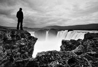 Iceland Waterfall Fine Art Print