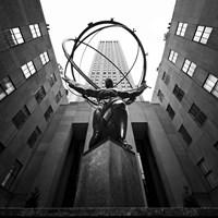 NYC Rockefellar Framed Print