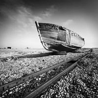 Ship Wreck I Fine Art Print