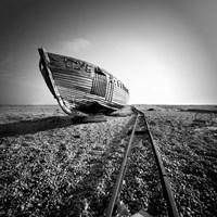 Ship Wreck II Framed Print