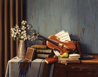 The New Violin Fine Art Print