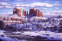 The Spirit Of Red Rocks Fine Art Print