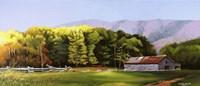 Cades Cove Barn Fine Art Print