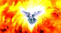 Holy Spirit Fire Fine Art Print