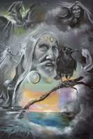 Merlin in Middle Earth Fine Art Print