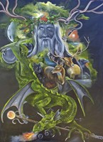 Odin Fine Art Print