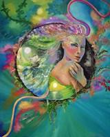 Lost Mermaid Fine Art Print