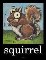 Squirrel Poster Fine Art Print