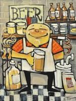 Basement Brewer Fine Art Print