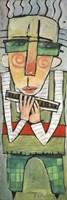Harmonicat Fine Art Print